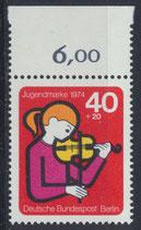 BERL 470 postfrisch mit Bogenrand oben