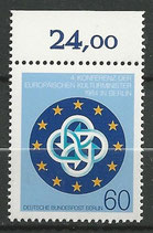 BERL 721  postfrisch mit Bogenrand oben (RWZ 24,00)