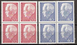 234-235 postfrisch Viererblocksatz (BERL)