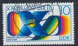 DDR 2133 philat. Stempel