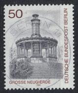 BERL 635 gestempelt