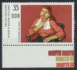 DDR 2004 postfrisch mit Bogenrand unten