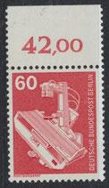 BERL 582 postfrisch mit Bogenrand oben