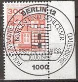 BERL 677 gestempelt mit Eckrand rechts unten