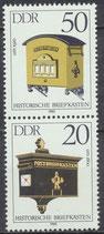 2927-2925 postfrisch SZD286 (DDR)