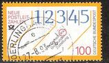 1659 / DE1558-001 gestempelt (Plattenfehler DE)