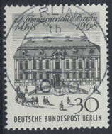 BERL 320 gestempelt