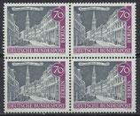 BERL 226 postfrisch Viererblock