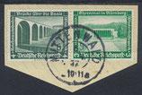 DR 636-637 gestempelt auf Briefstück