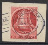 BERL 84 gestempelt auf Briefstück