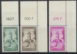 SAAR 373-374 postfrisch mit Oberrand und Eckränder
