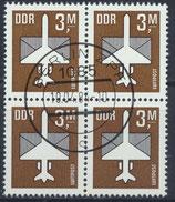 DDR 2868  philat. Stempel Viererblock