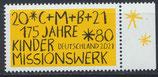 BRD 3582 postfrisch mit Bogenrand rechts