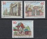 BERL 761-763 gestempelt