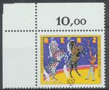 1600 postfrisch Eckrand links oben (RWZ 10,00) (BRD)