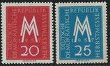 596-597 postfrisch (DDR)