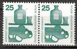 BERL 405 A postfrisch waagrechtes Paar