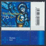 BRD 3418 postfrisch mit Eckrand rechts unten