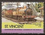 817 postfrisch (St. Vincent Eisenbahn)