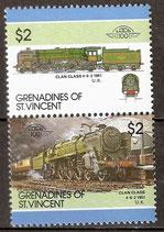 470-471 postfrisch (St. Vincent / Grenadinen Eisenbahn)