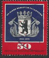BERL 523 gestempelt