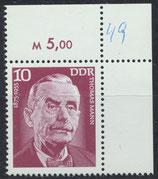 DDR 2026 postfrisch mit Eckrand rechts oben