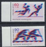 BRD 1009-1010 postfrisch mit Bogenrand links