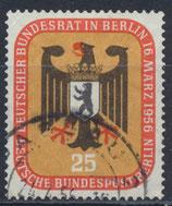 BERL 137 gestempelt