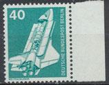 BERL 498 postfrisch Bogenrand rechts