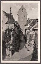 88709   (W-7758)    Meersburg   - Oberes Tor und Bären-   (PK-00327)