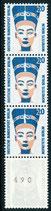 BERL 831  A R postfrisch, 5er Streifen mit rückseitger Nummer -490-