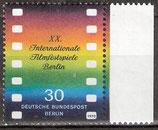 BERL   358 postfrisch mit Bogenrand rechts
