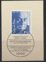 BERL 760  mit Ersttagsonderstempel
