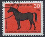 BERL 328 gestempelt