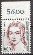 BERL 771 postfrisch mit Bogenrand oben (RWZ 56,00)
