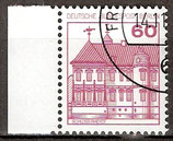BERL 611 gestempelt mit Bogenrand links