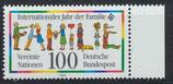 BRD 1711 postfrisch mit Bogenrand rechts