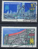 DDR 2161-2162  philat. Stempel