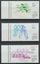 BERL 716-718 postfrisch Bogenrand unten