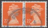 1285  gestempelt waagrechtes Paar (GB)