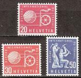 100-102 postfrisch (CH-BIT/ILO)