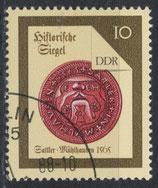 DDR 3156 philat. Stempel