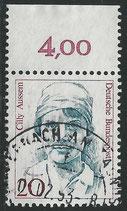 BRD 1365   gestempelt  mit Bogenrand oben (RWZ 4,00)