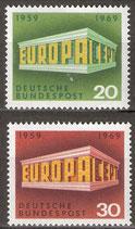 BRD 583-584  postfrisch