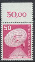 BERL 499 postfrisch mit Bogenrand oben (RWZ 30,00)