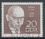 DDR 1388 philat. Stempel