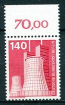 BERL 504  postfrisch mit Bogenrand oben (RWZ 70,00)
