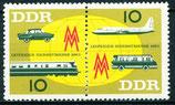 976-977 postfrisch Zusammendruck (DDR)