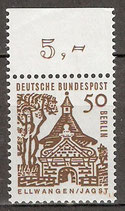 246 postfrisch mit Bogenrand oben (RWZ 5,00) (BERL)