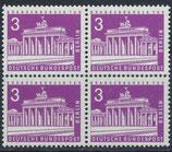 BERL 231 postfrisch Viererblock